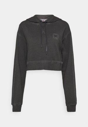 FLORENCE - Bluza z kapturem - jet black