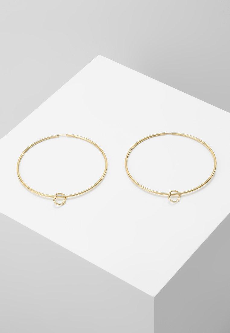 Maria Black - SENORITA HOOP PAIR NOON CHARM - Earrings - gold-coloured