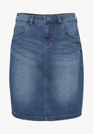 CREAM SAMMYCR DENIM SKIRT - Denim skirt - rich blue denim