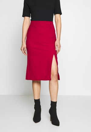BORDO - Pencil skirt - burgundy