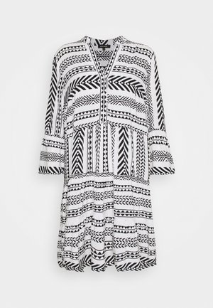 TUNIC DRESS - Shirt dress - black