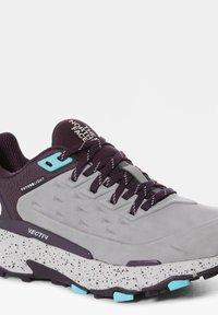 The North Face - Climbing shoes - meldgry/darkeggplantpurpl - 4
