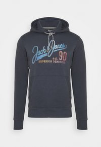 PRINT  - Hoodie - ombre blue