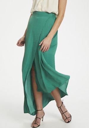 SLKELLAN MAXI SKIRT - Wrap skirt - pine green