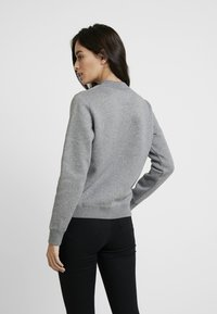 Calvin Klein Jeans - MOCK NECK - Mikina - mid grey heather - 2