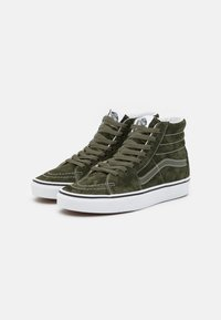 Vans - SK8-HI UNISEX - Sneakers hoog - olive/true white - 1