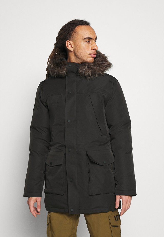 EVEREST SNOW PARKA - Lyžařská bunda - black