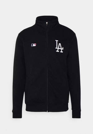 MLB LOS ANGELES DODGERS CORE ISLINGTON - Zip-up sweatshirt - jet black