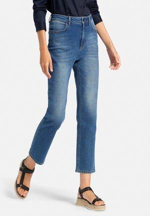 Slim fit jeans - midbkue denim