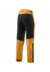 Haglöfs - RUGGED FLEX PANT - Outdoor trousers - desert yellow/true black - 3