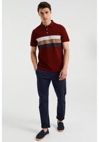WE Fashion - Polo shirt - burgundy red - 1