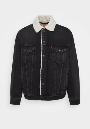 VTG FIT TRUCKER UNISEX - Veste en jean - midnight