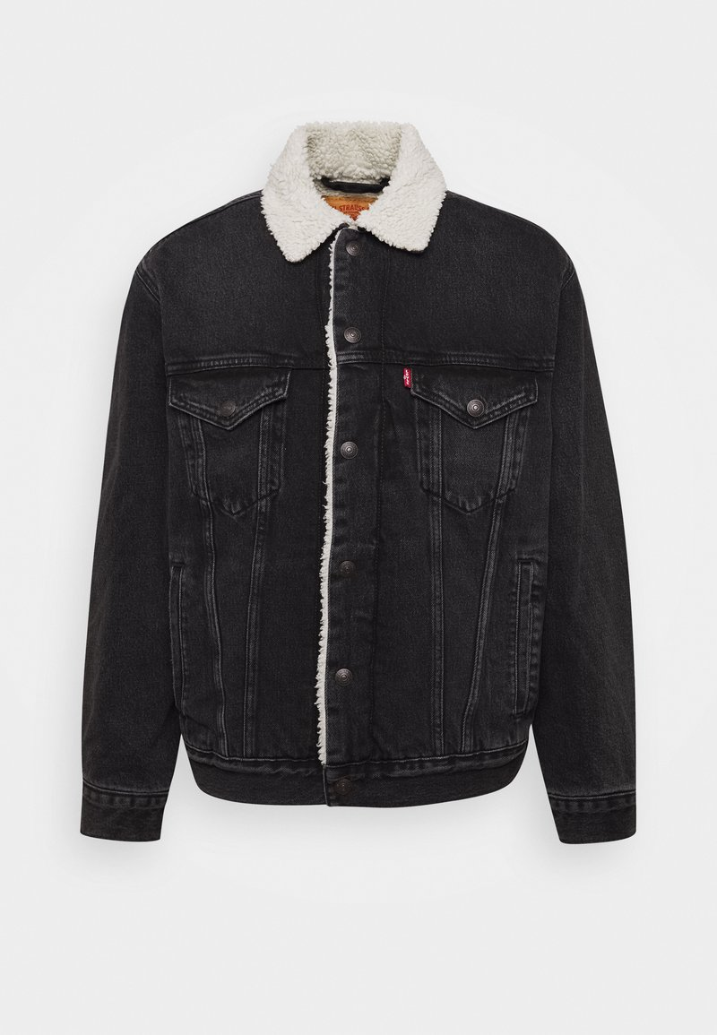 Levi's® - VTG FIT TRUCKER UNISEX - Spijkerjas - midnight