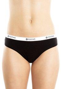 Rooxs - 3 PACK - Thong - schwarz, weiss ,grau - 0