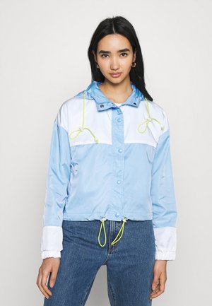 COLOURBLOCK  JACKET - Cortaviento - blue