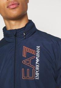 EA7 Emporio Armani - Summer jacket - dark blue/orange - 3