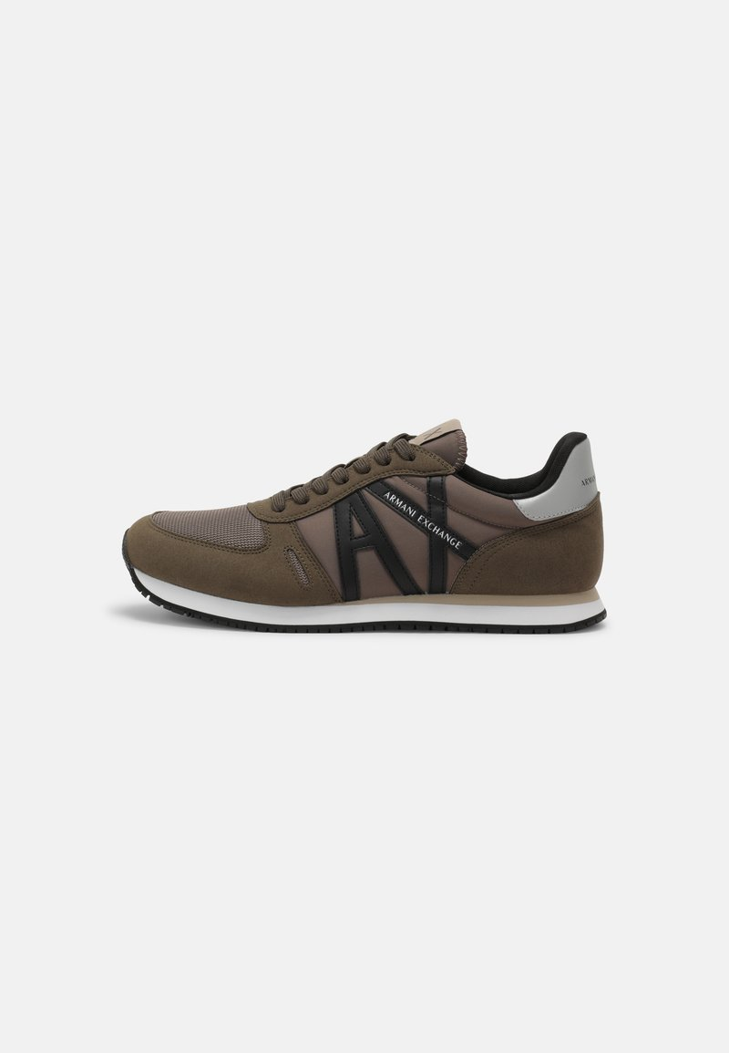 Armani Exchange - Trainers - brown/taupe