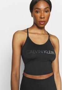 Calvin Klein Performance - COOL TOUCH TANK - Top - black - 3