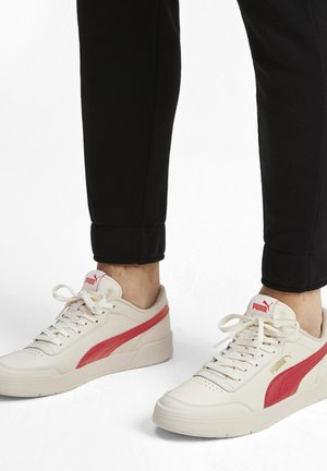 CARACAL - Sneakers basse - whisper white/high risk red