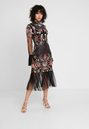 DELILAH DRESS - Iltapuku - black/multi