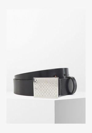 CARINE BELT 3 CM - Cintura - black