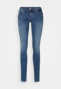 ONLY - ONLCORAL LIFE  - Jeans Skinny Fit - dark blue denim - 5