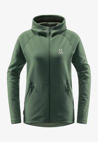 Haglöfs - BUNGY HOOD - Fleece jacket - fjell green - 5