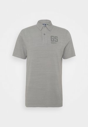 STITCH AND GRAPHIC - Poloshirt - charcoal