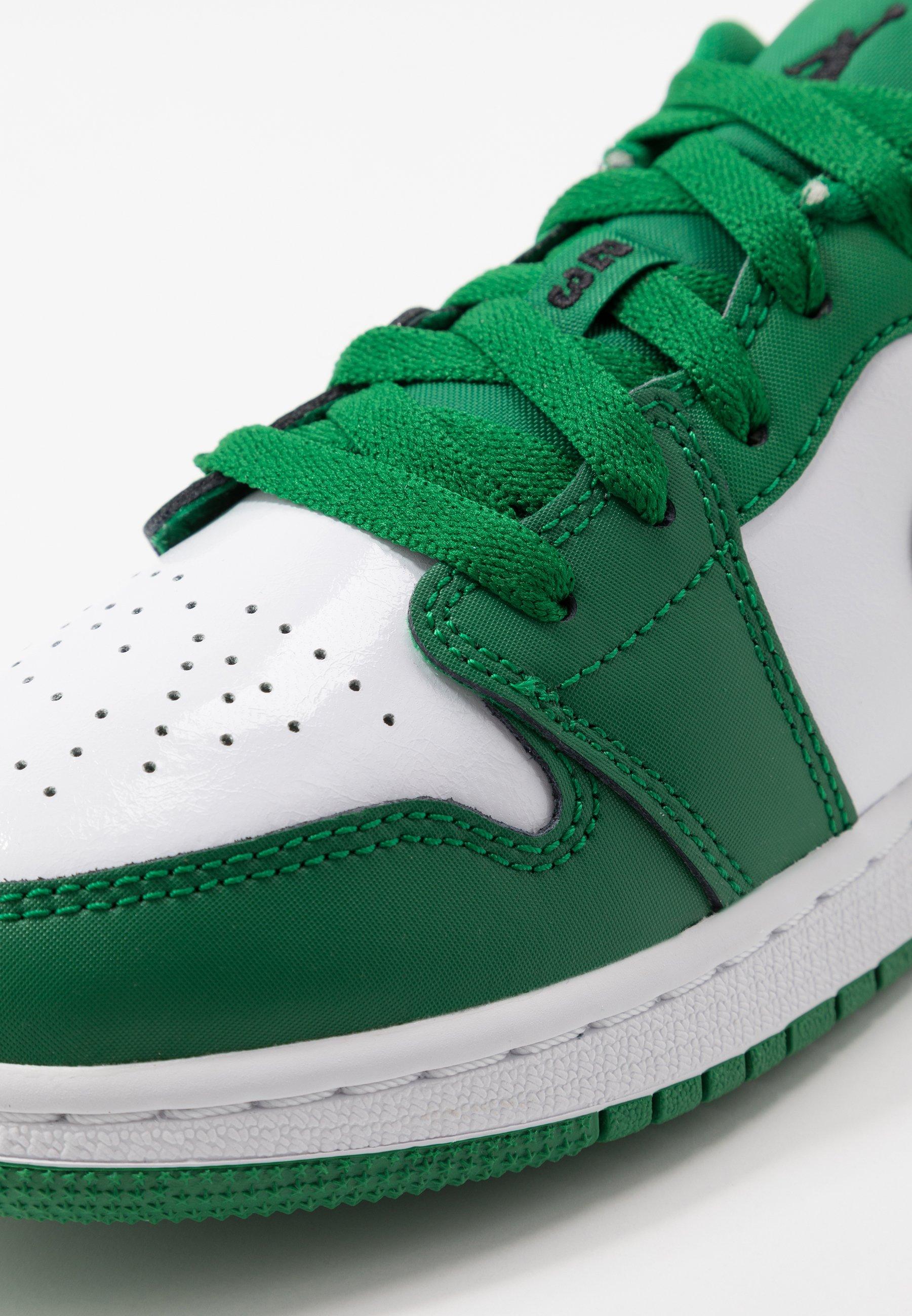 Jordan AIR 1 LOW UNISEX - Chaussures de basket - pine green/black ...