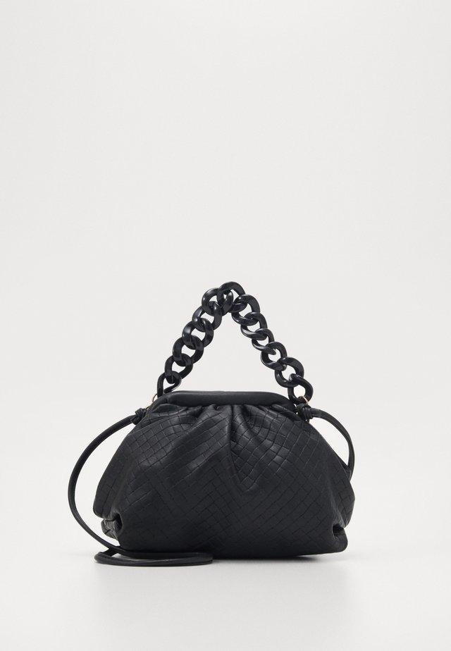 SERENA BAG - Taška spříčným popruhem - black