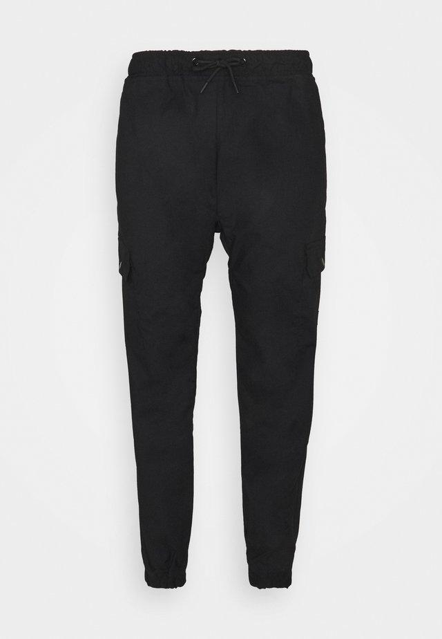 UTILITY JOGGER - Trousers - black