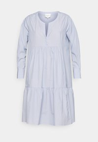 MOSCOW NEW DRESS - Day dress - bel air blue