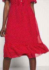 LK Bennett - MALAMI - Day dress - geranium/macadamia - 4