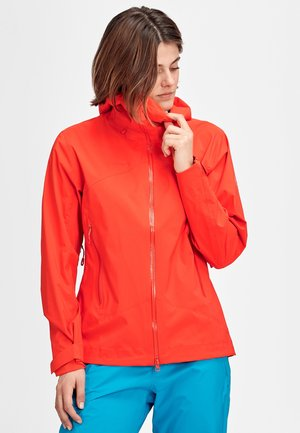 KENTO HS - Hardshell jacket - poinciana