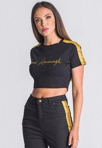 Gianni Kavanagh - NOBLE SIGNATURE CROPPED - T-shirt print - black - 0