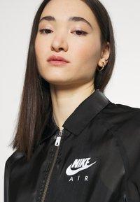 Nike Sportswear - AIR SHEEN - Summer jacket - black/white - 3
