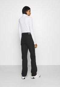 Weekday - VOYAGE LOVED - Straight leg jeans - echo black - 2