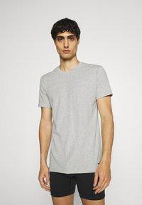 Nike Underwear - CREW NECK 2 PACK - Hemd - grey - 1