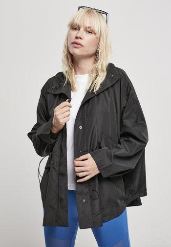 Regenjas - schwarz
