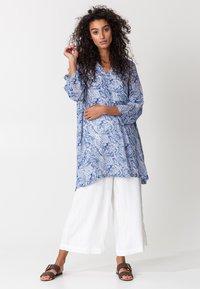 Indiska - GRISHMA - Tunic - blue - 1