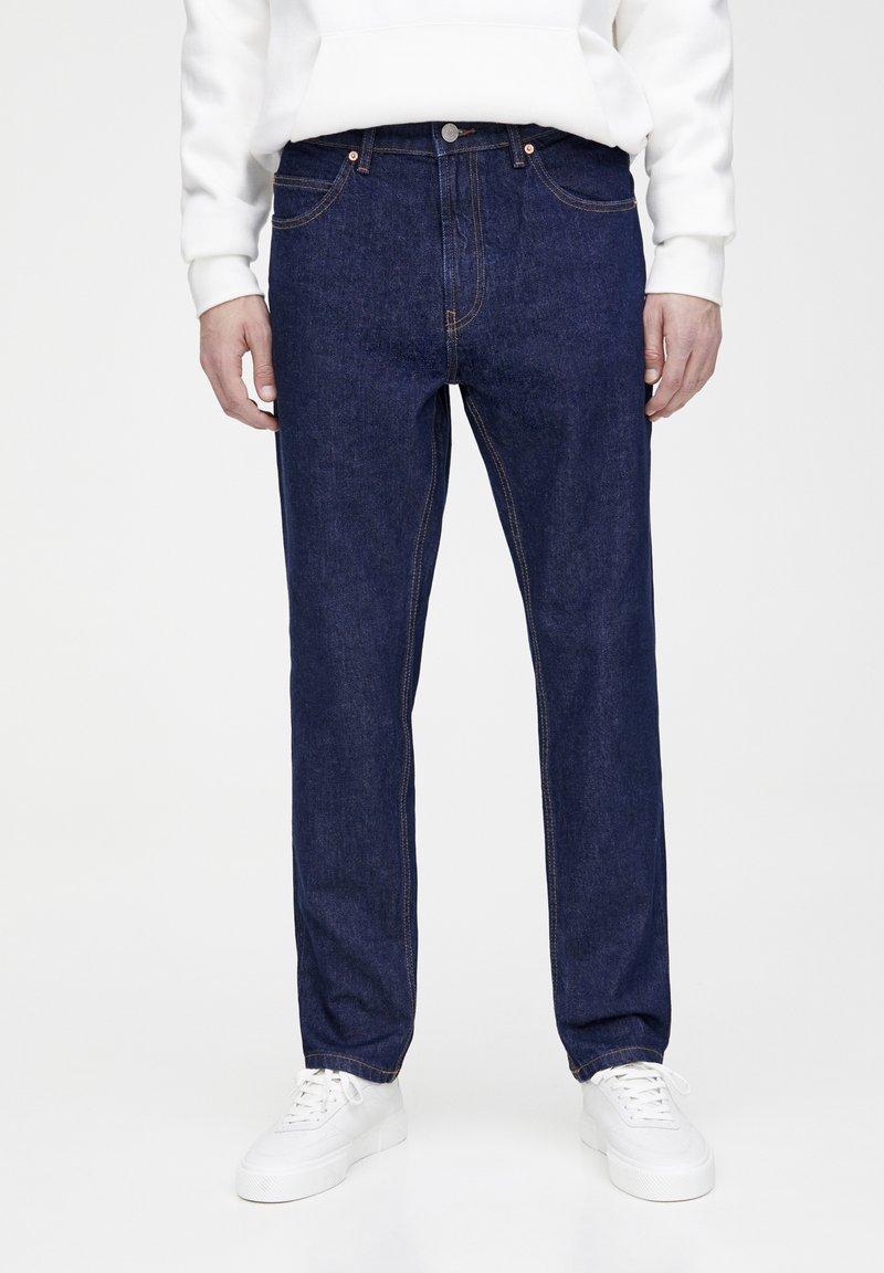 PULL&BEAR - Straight leg jeans - dark blue