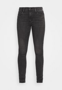 Levi's® - 720 HIRISE SUPER SKINNY - Jeansy Skinny Fit - smoked out - 4