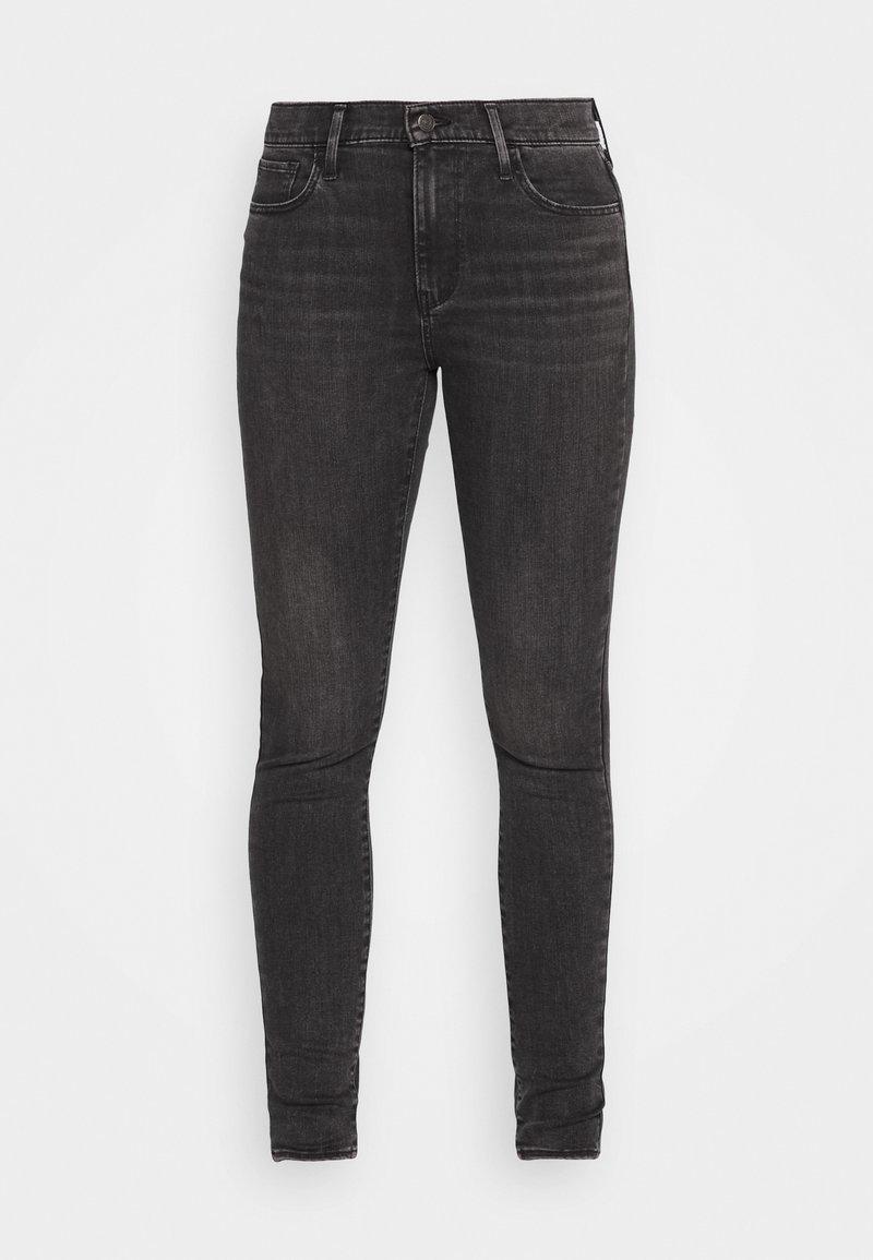 Levi's® 720 HIRISE SUPER SKINNY - Jeans Skinny Fit - smoked out/grey denim 3RBixM