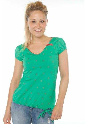 Print T-shirt - green melons