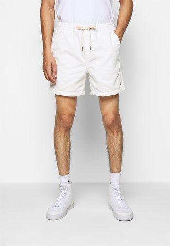 CLASSIC CORDUROY POLO PREPSTER - Shorts - warm white