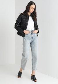 Oakwood - LINA - Leather jacket - black - 1