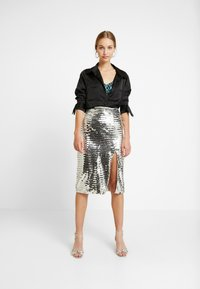 Glamorous - A-snit nederdel/ A-formede nederdele - silver - 1