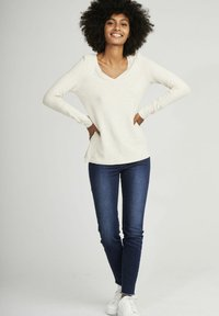 NAF NAF - Long sleeved top - beige - 1
