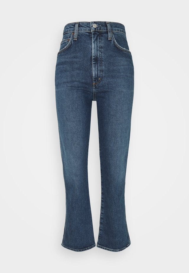 SOUND PINCHE WAIST - Straight leg jeans - medium indigo