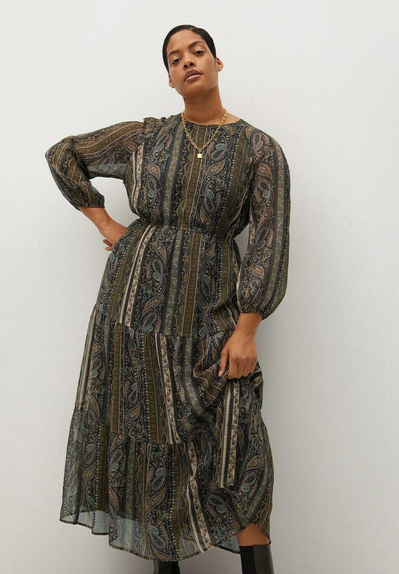 Violeta by Mango - DAVID - Maxi dress - braun